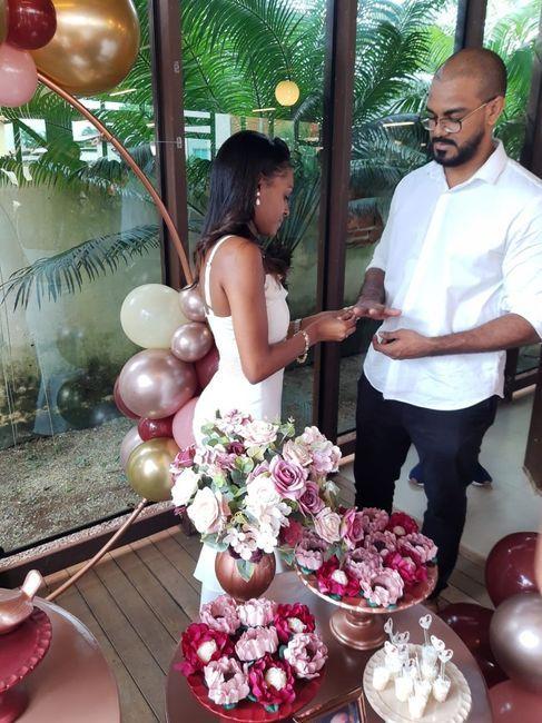 Evento de noivado, você fizeram? 4