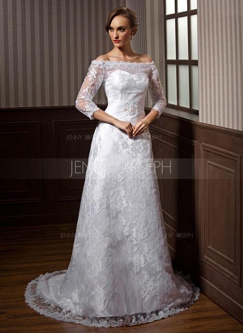 Vestido ideal para bodas de zinco