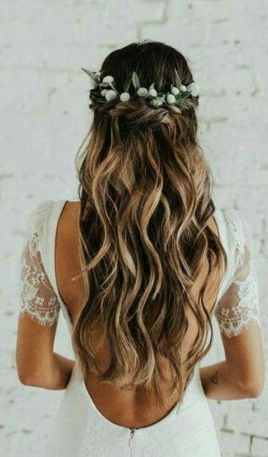 Que tipo de penteado vai usar no dia C? 2