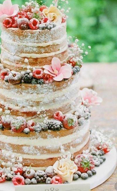 Naked Cake - Agora Que Sou Noiva