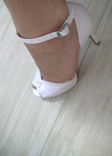 Meu sapato Santa Scarpa chegou! - experiência 3