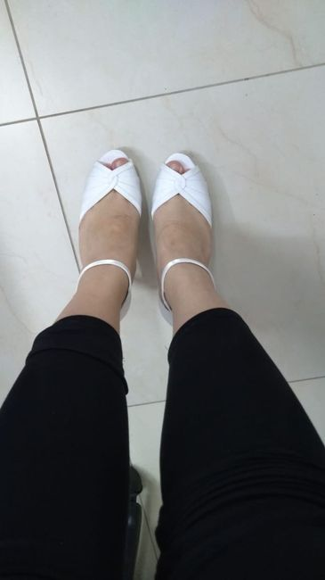 Meu sapato Santa Scarpa chegou! - experiência 7