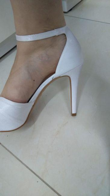 Meu sapato Santa Scarpa chegou! - experiência 8