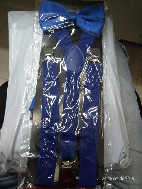 Suspensórios e gravatas dos meus padrinhos 3