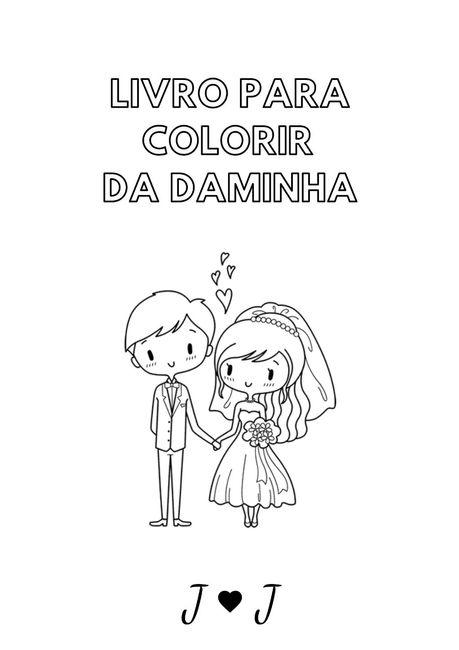 Livro de colorir das daminhas 1