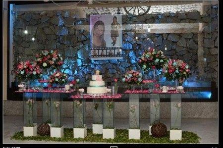 Festa Linda Com Decoração Azul Tifany E Rosa