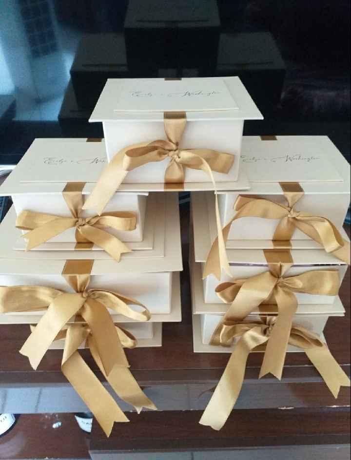 Minhas caixas-convite para padrinhos e madrinhas! - 3