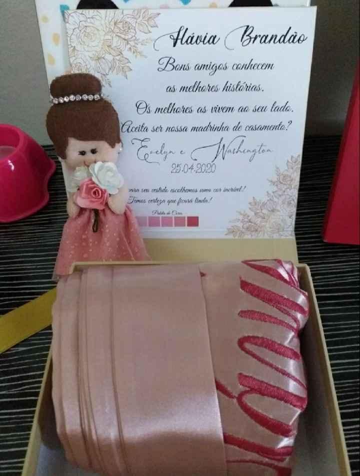 Minhas caixas-convite para padrinhos e madrinhas! - 6