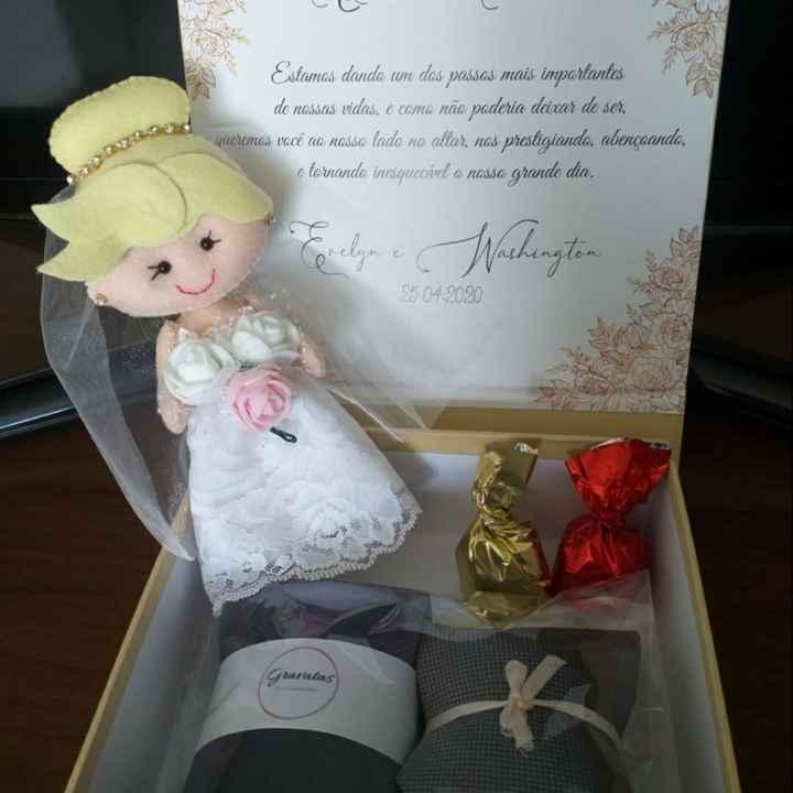 Caixa-convite dos pais dos noivos! - 4