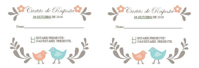 Cartões De Casamento: Rsvp Casamento( Cartão De Resposta