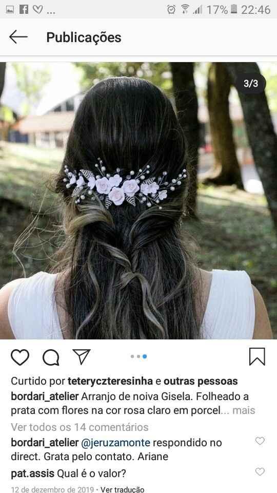 Grinalda  (arranjo de cabelo) - 1
