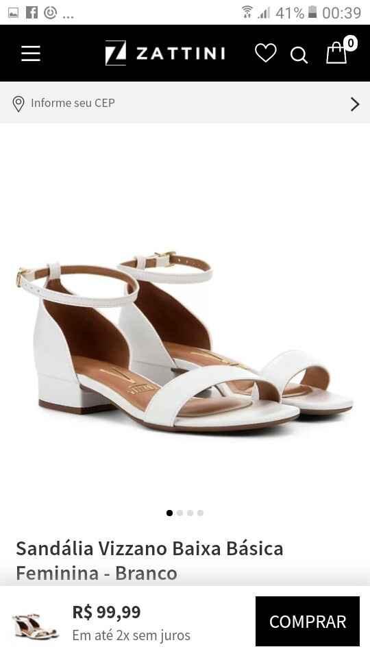 o sapato - 1