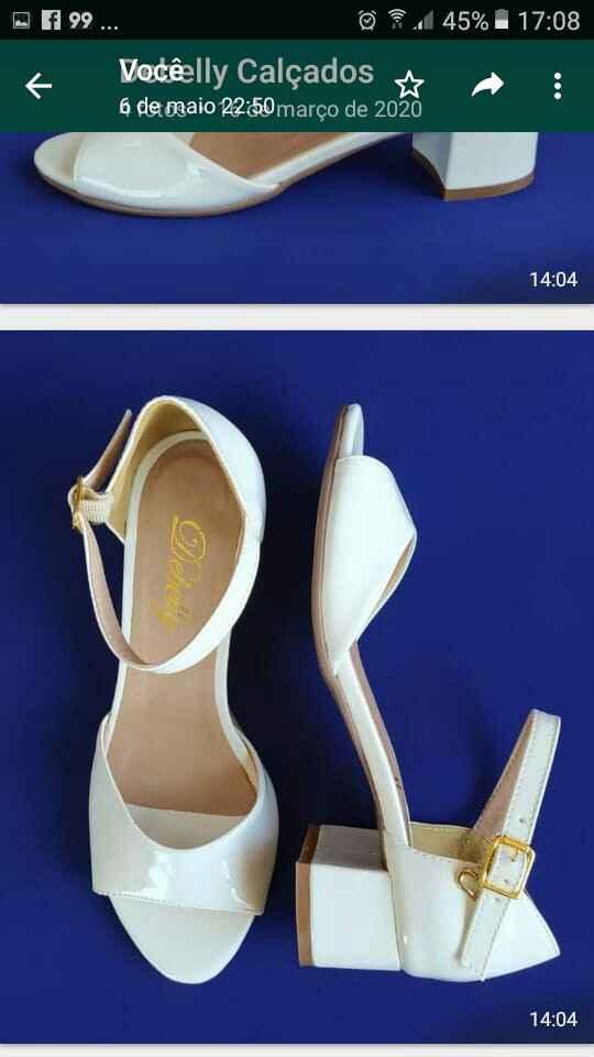 Peep toe ou sandália? - 2