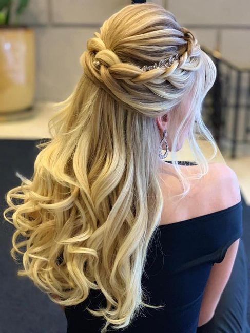 Penteados noiva - casamento campo 1