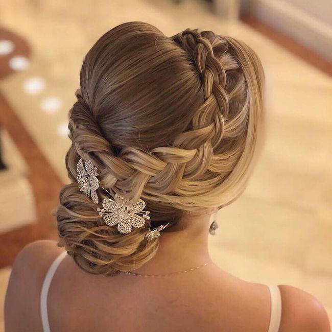 Penteados noiva - casamento campo 2
