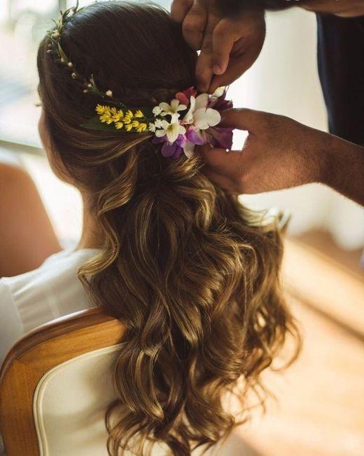 Penteados noiva - casamento campo 7