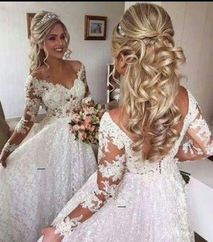 Penteados noiva - casamento campo 9