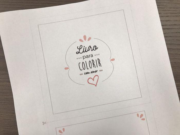 Como Usar O Livro De Colorir No Casamento