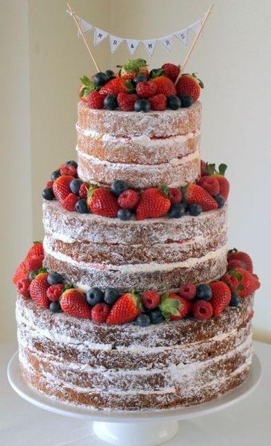 Batalha de bolos: NAKED CAKE 1