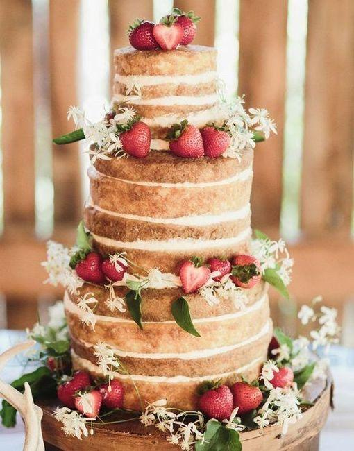Batalha de bolos: NAKED CAKE 3