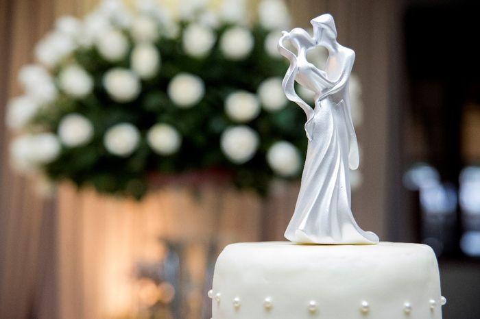 De 0 a 10, dê uma nota para este topo de bolo! 1