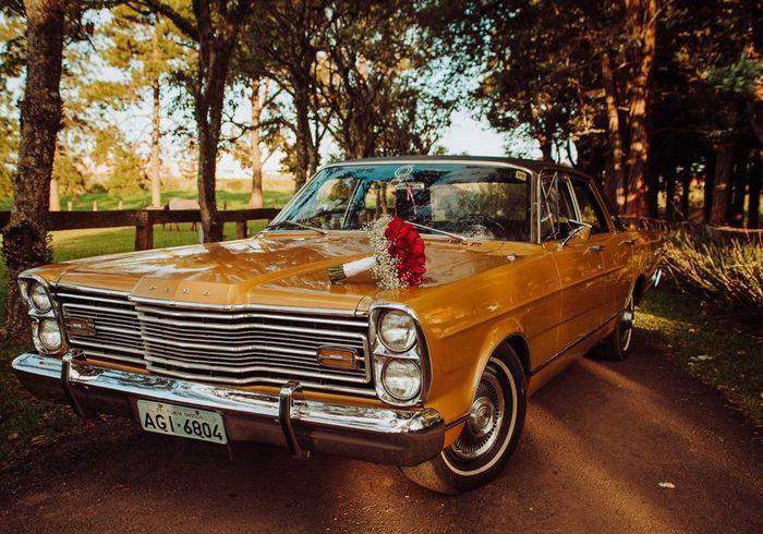 De 0 a 10, dê uma nota para este carro da noiva! 1