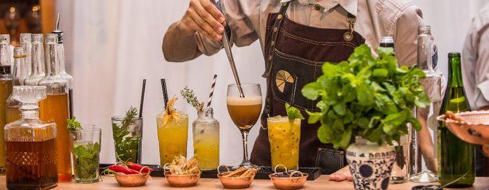 Quanto você pagaria por este... bar de drinks? 1