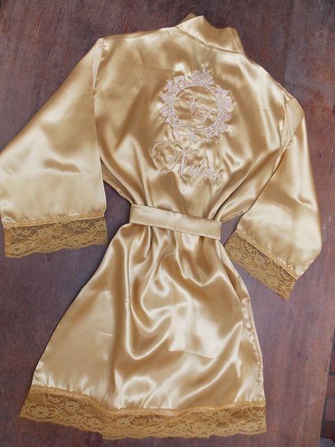 Missão Dia da Noiva: o robe 2