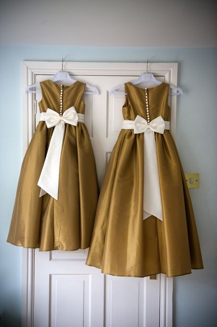 Daminhas de vestido branco ou colorido? 1