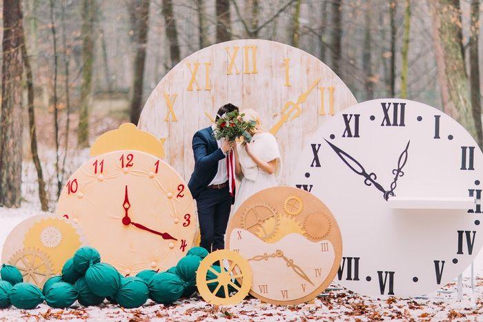 Qual será o horário do casamento? 1