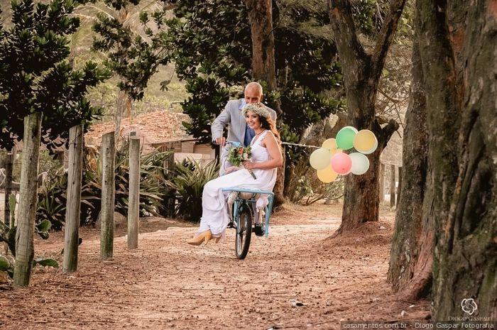 Clássica ou moderna: A entrada da noiva 2