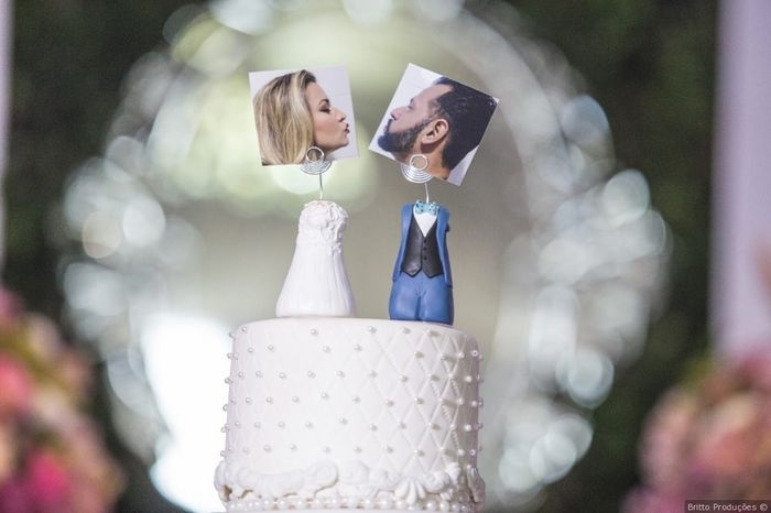 Topo de bolo com foto, SIM ou NÃO? 1