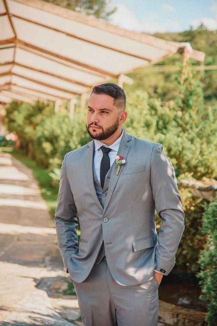 Melhores do ano 2019: o traje do noivo 9