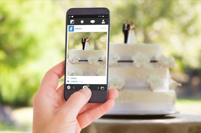 Terão alguma hashtag para o casamento? 1