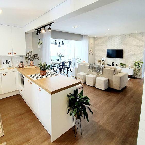 Sala e cozinha integradas: SIM ou NÃO? 1
