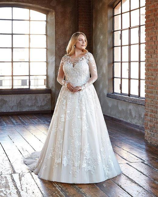 Vestido de noiva manga longa: qual dos dois? 1