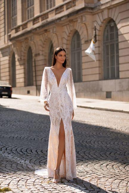 Vestido de noiva manga longa: qual dos dois? 2