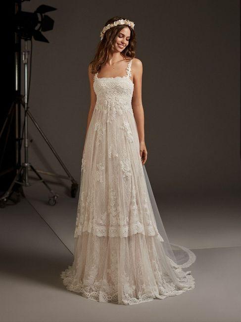 Vestido de noiva em renda: qual dos dois? 1