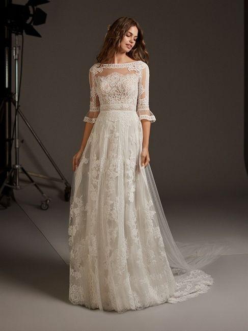 Vestido de noiva em renda: qual dos dois? 2