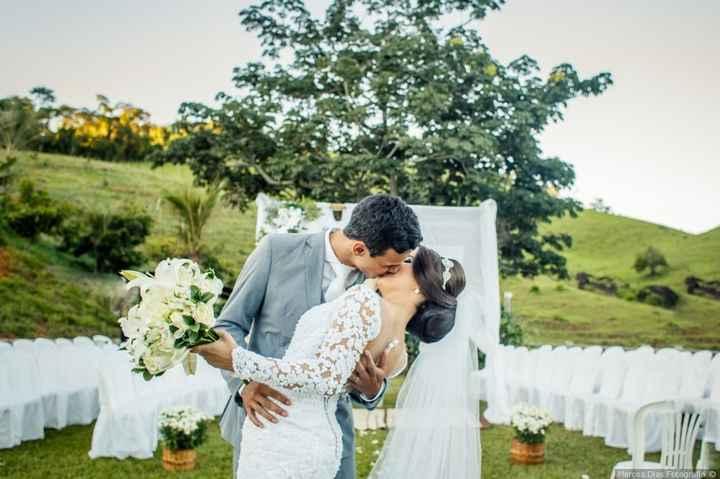 Casamentos reais 2019: o beijo no altar 1