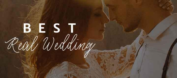 Concurso Best Real Wedding 2021: vem dar o seu voto! - 1