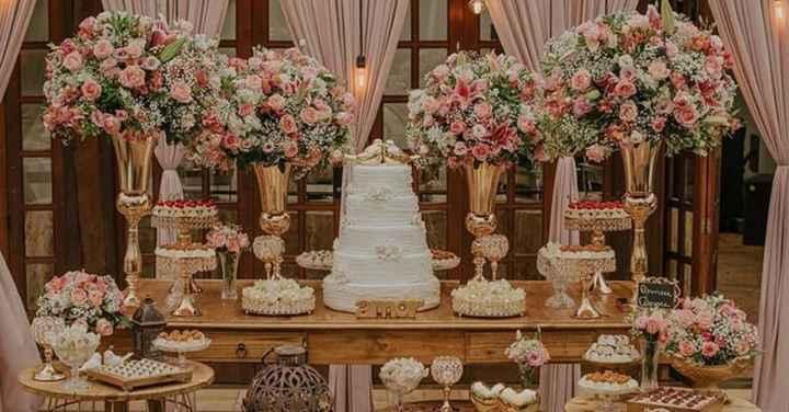 12 mesas do bolo inspiradoras para o dia C! - 12