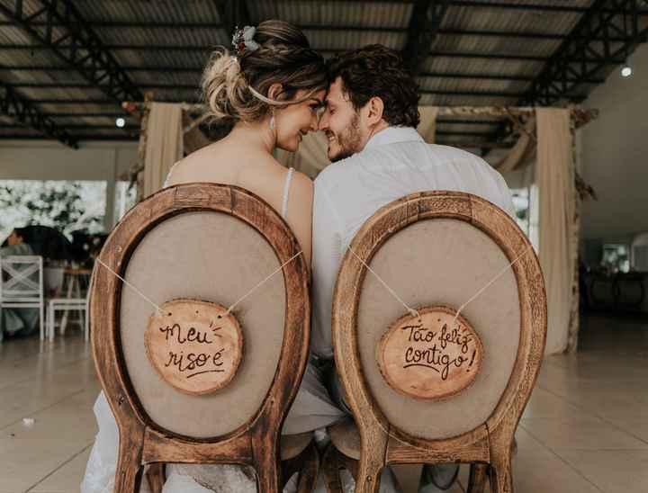 Esta cadeira dos noivos: pega, pensa ou passa? - 1
