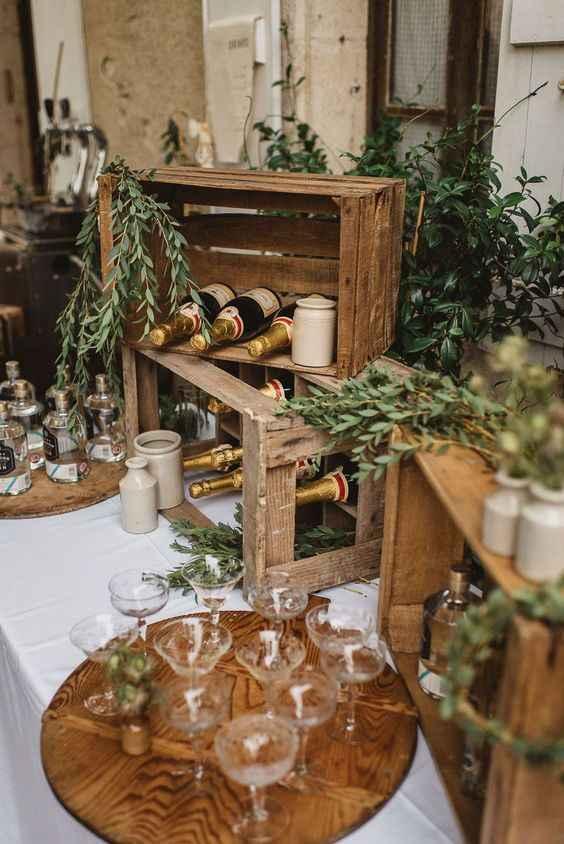 Decoração de casamento com caixotes: seis ideias lindas e rústicas! - 2
