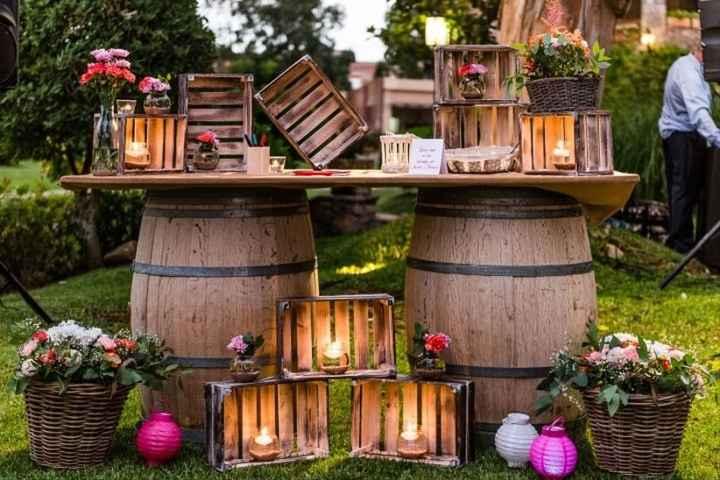 Decoração de casamento com caixotes: seis ideias lindas e rústicas! - 4