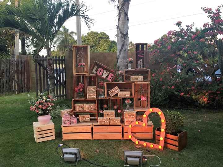 Decoração de casamento com caixotes: seis ideias lindas e rústicas! - 7