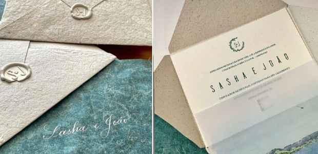 Dê o seu lance para… o convite de casamento da Sasha 💰 - 1