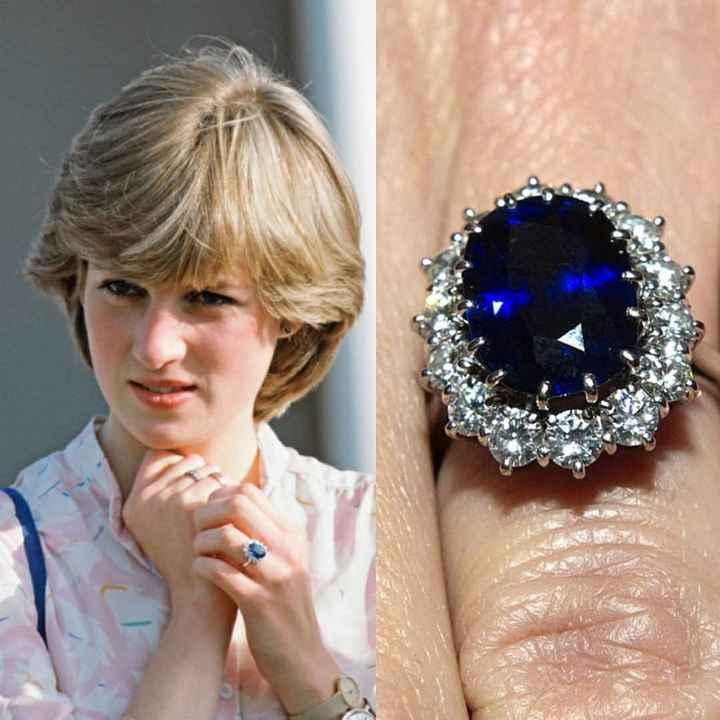 Dê o seu lance para… o anel de noivado da Lady Di 💰 - 1