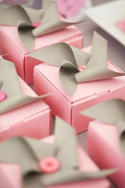 Casamento rosa e cinza