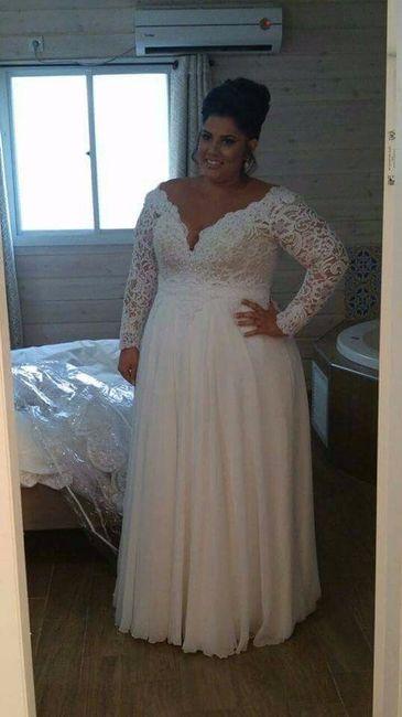 2abde65ea121 Vestidos para noivas plus size